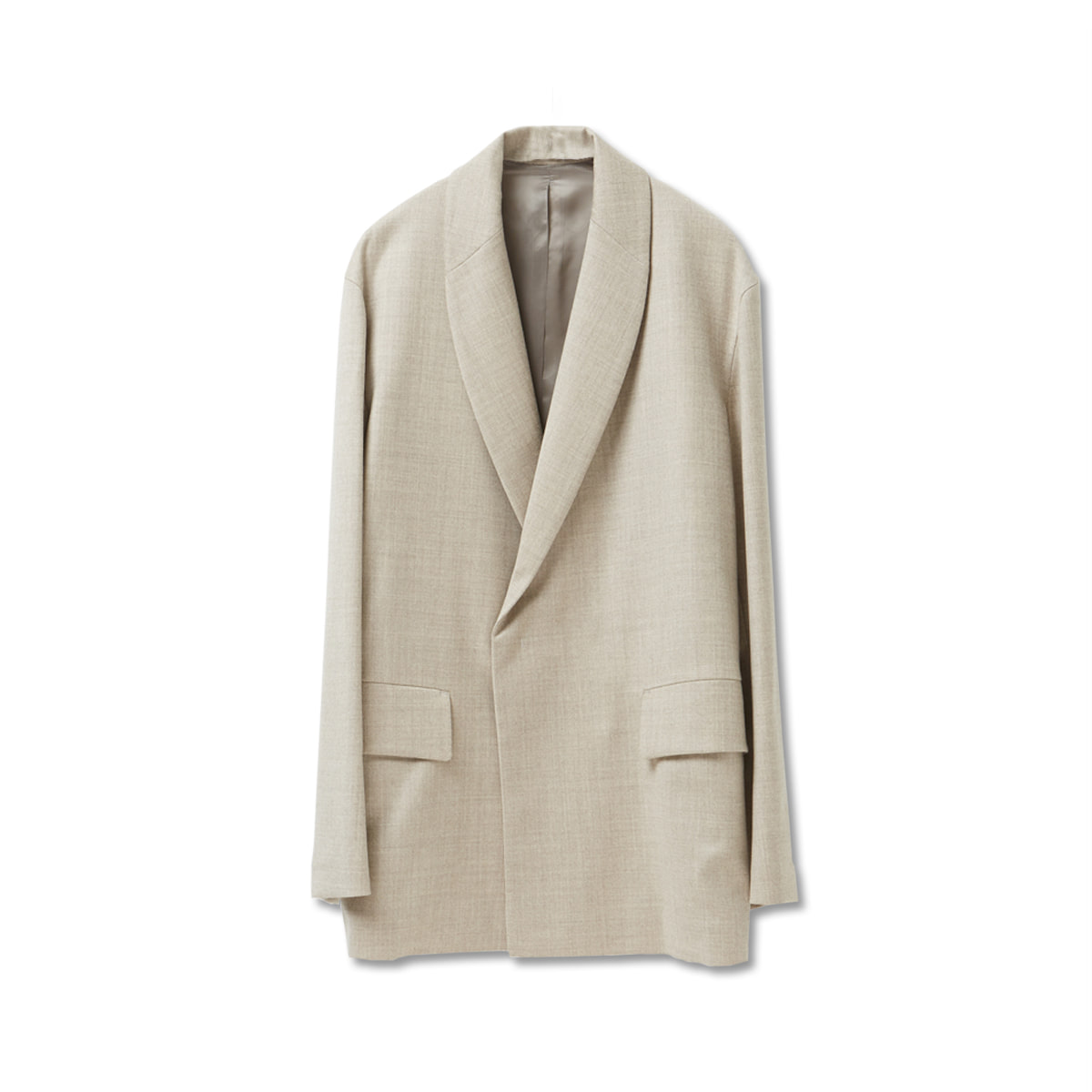 [YOUTH] SHAWL COLLAR JACKET 'BEIGE'
