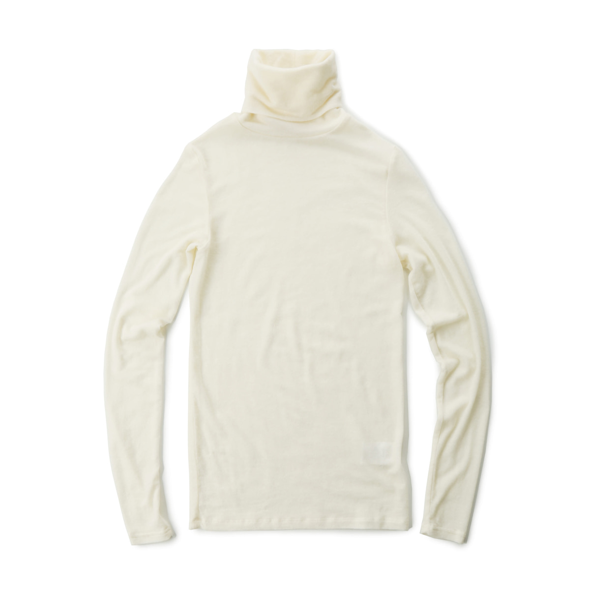[MUSED] SUBTLE ROLL NECK JERSEY 'IVORY'