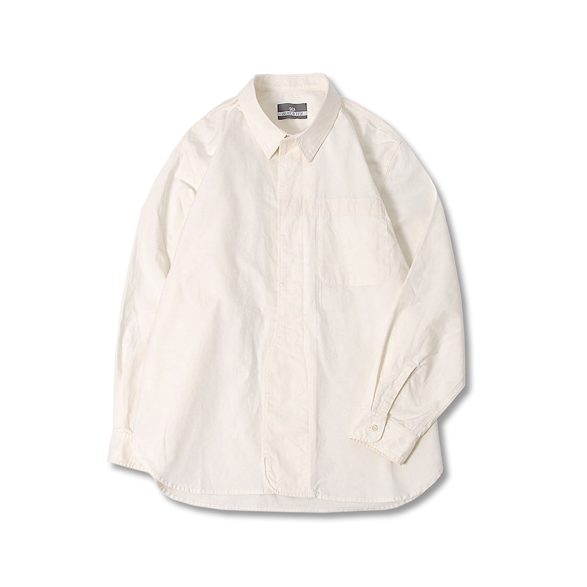 [BEHEAVYER] 1 1/2 SHIRT 'OFF WHITE'
