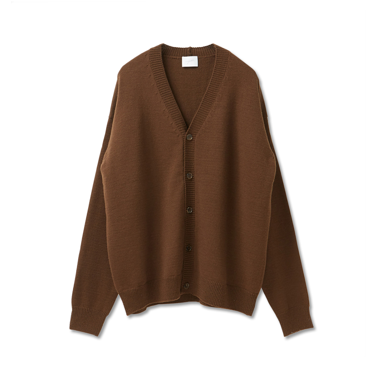 [YOUTH] OVERSIZED CARDIGAN 'BROWN'