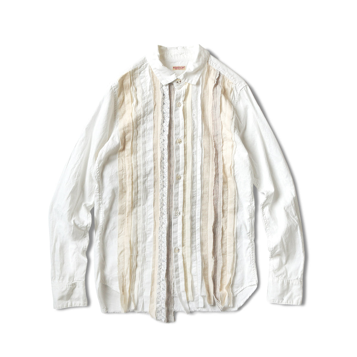 [KAPITAL] OX HOBO DRESS SHIRT 'WH'