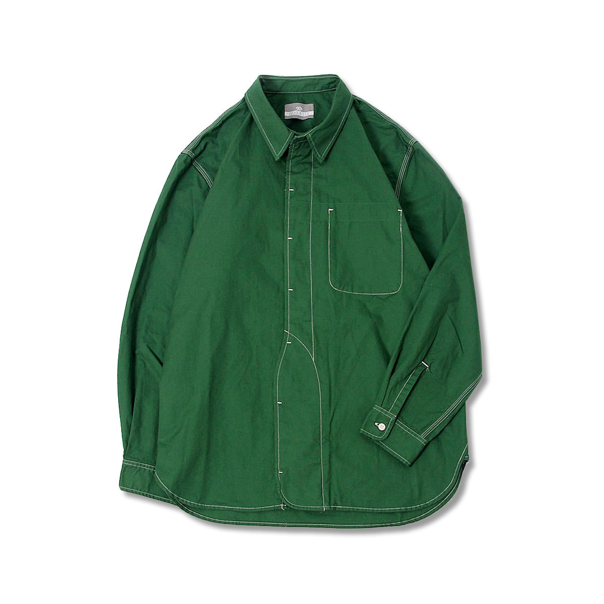 [BEHEAVYER] 1 1/2 SHIRT 'GREEN'