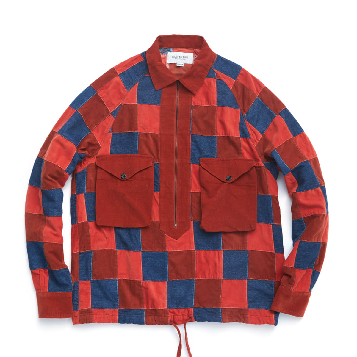 [EASTLOGUE] SCOUT PULLOVER SHIRT 'DENIM/CORDUROY P.W'