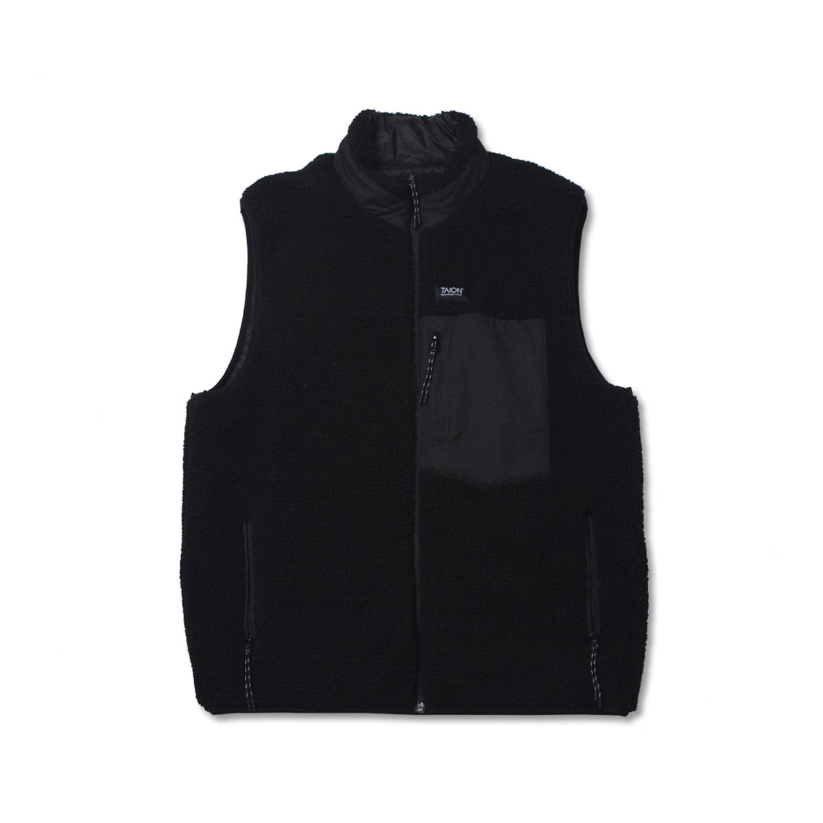 [TAION]  DOWN X BOA REVERSIBLE DOWN VEST (TAION-R002MB) 'BLACK'