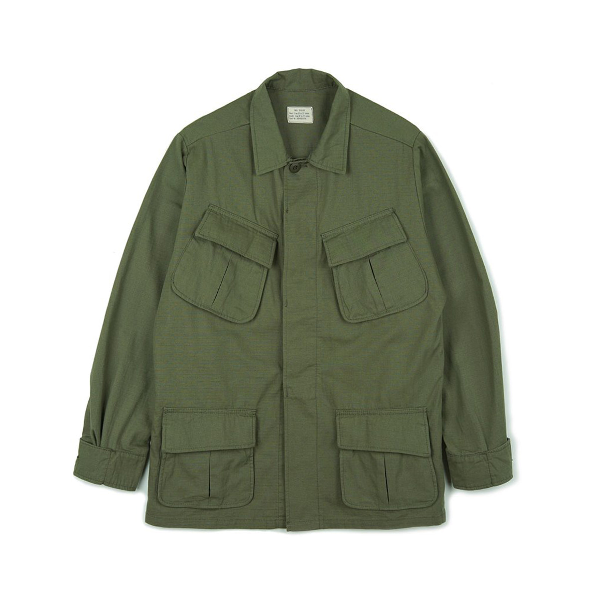 [YMCLKY] US JUNGLE FATIGUE JACKET 4TH MODEL 'OLIVE'