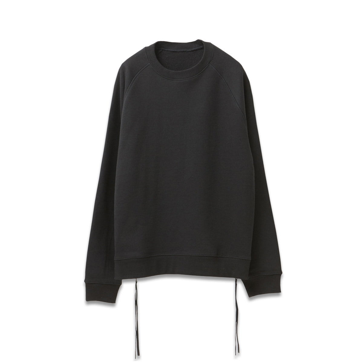 [YOUTH] SIDE ZIP-UP SWEATSHIRT 'BLACK'