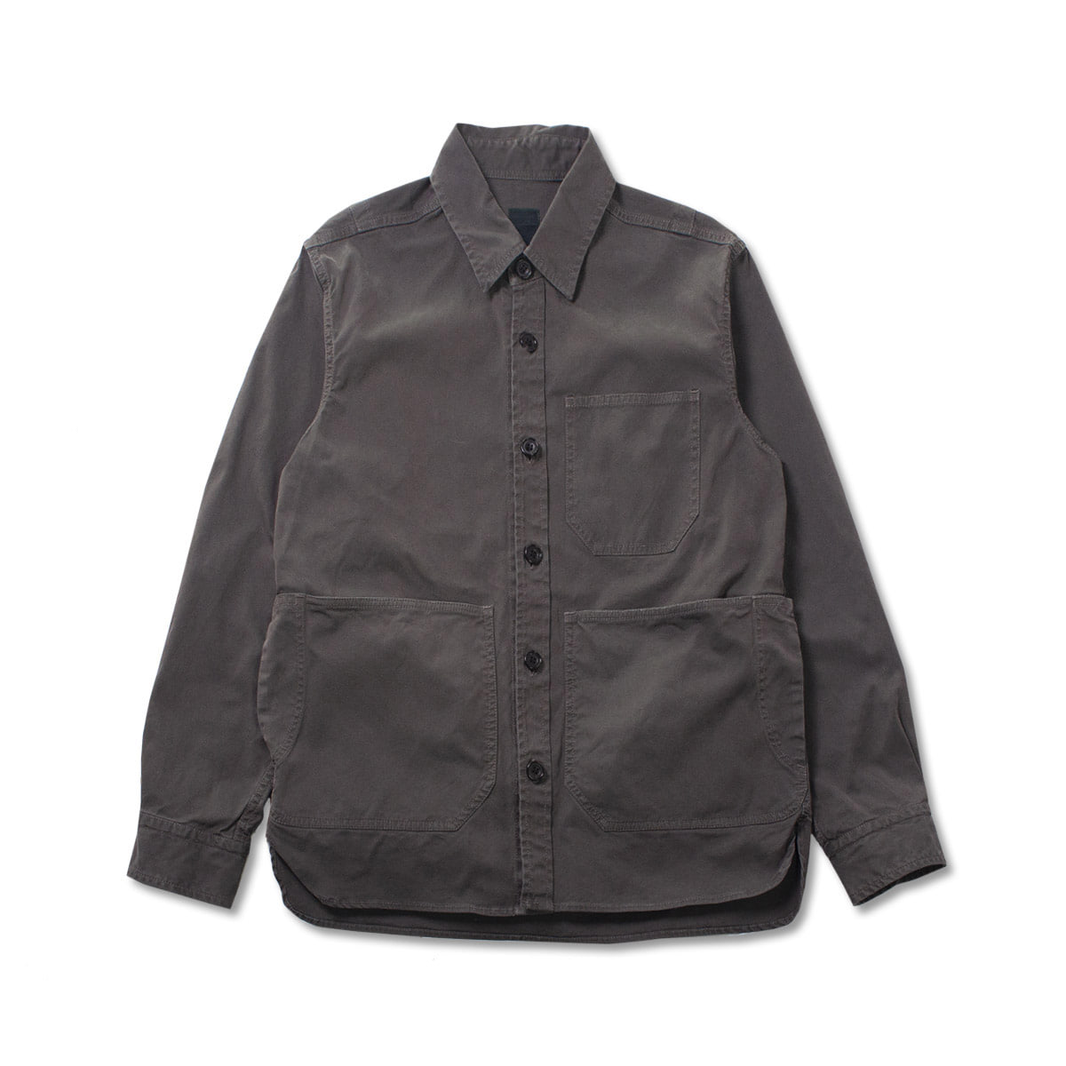 [SAGE DE CRET] SHIRT JACKET 'CHARCOAL'