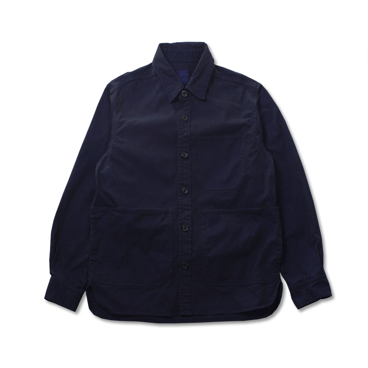[SAGE DE CRET] SHIRT JACKET 'NAVY'
