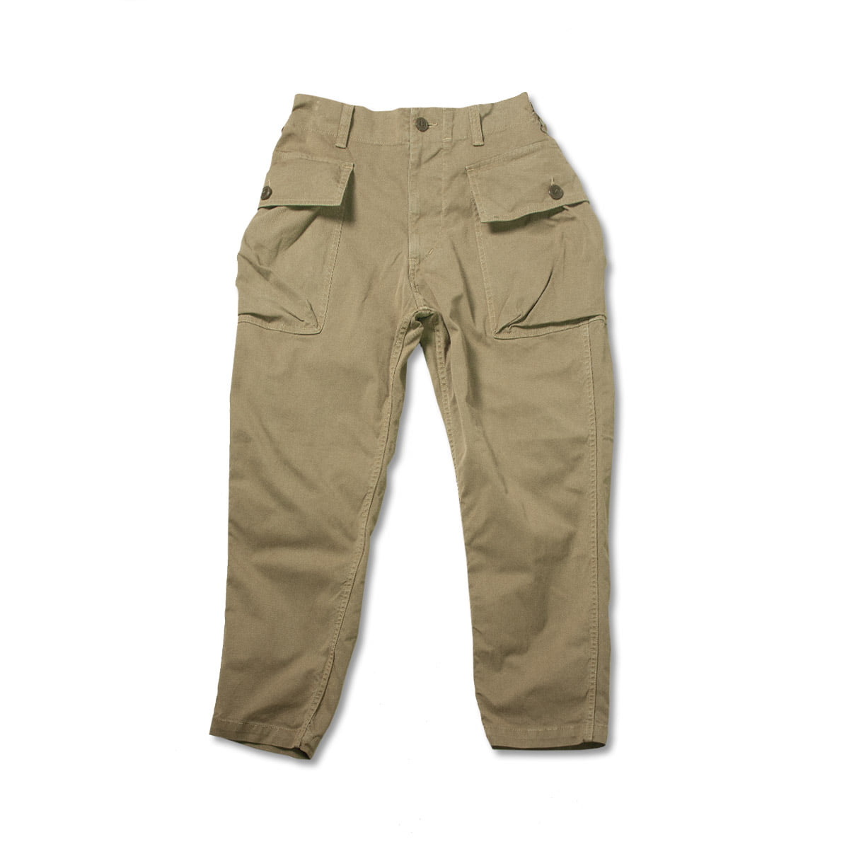 [SAGE DE CRET] TWILL COTTON CARGO PANTS 'BEIGE'