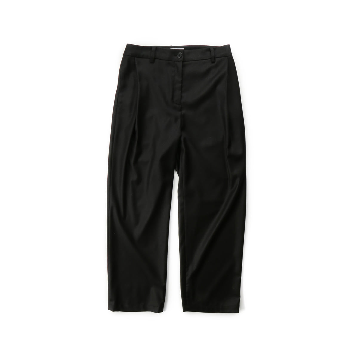 [MUSED] SALENA TUCK PANTS 'BLACK CASHMERE'