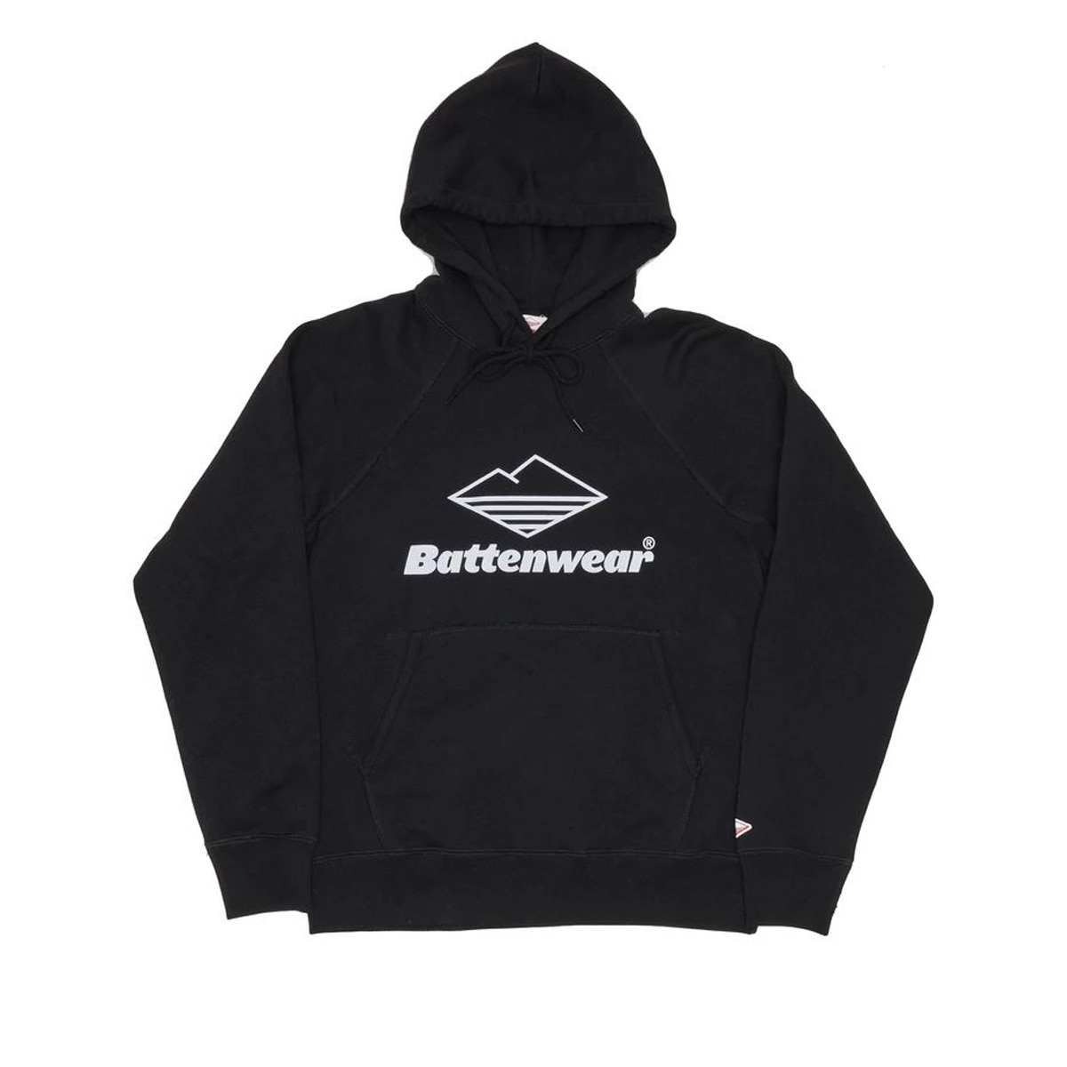 [BATTENWEAR] TEAM REACH UP HOODY 'BLACK'