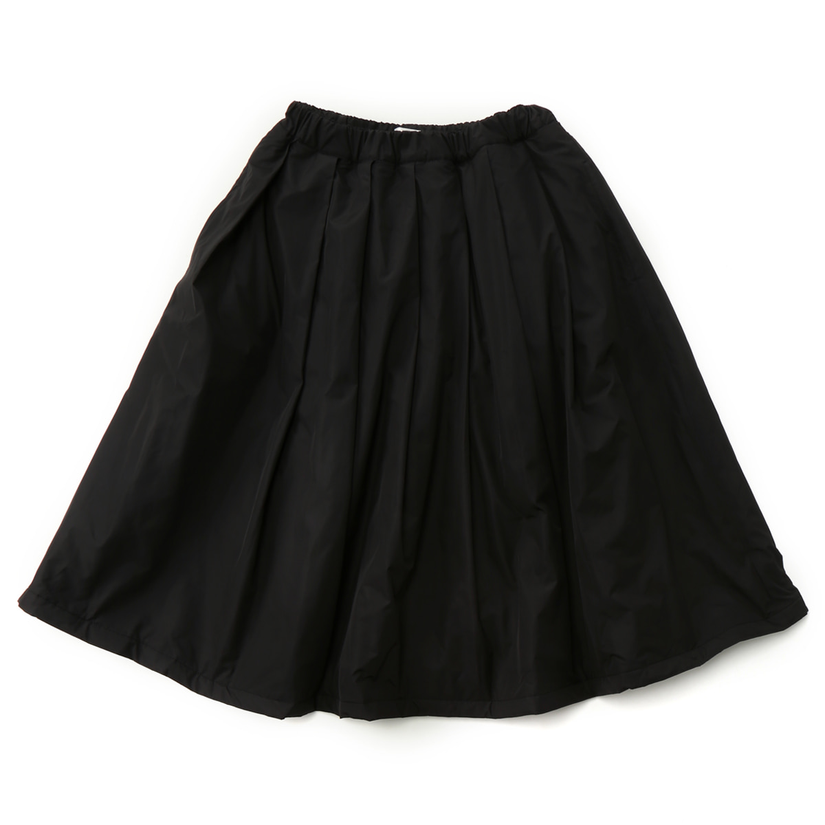[MUSED] LAYLA A-LINE SKIRT 'BLACK QUILTING'
