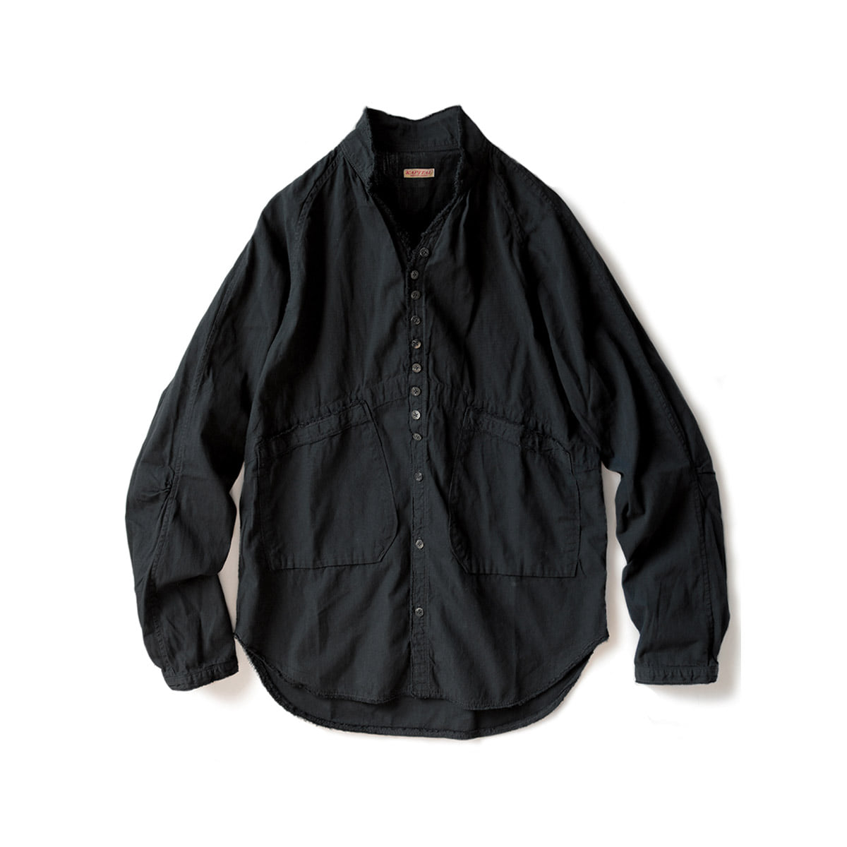 [KAPITAL] BLACK BROAD CLOTH BASQUIAT SHIRT 'BLK'