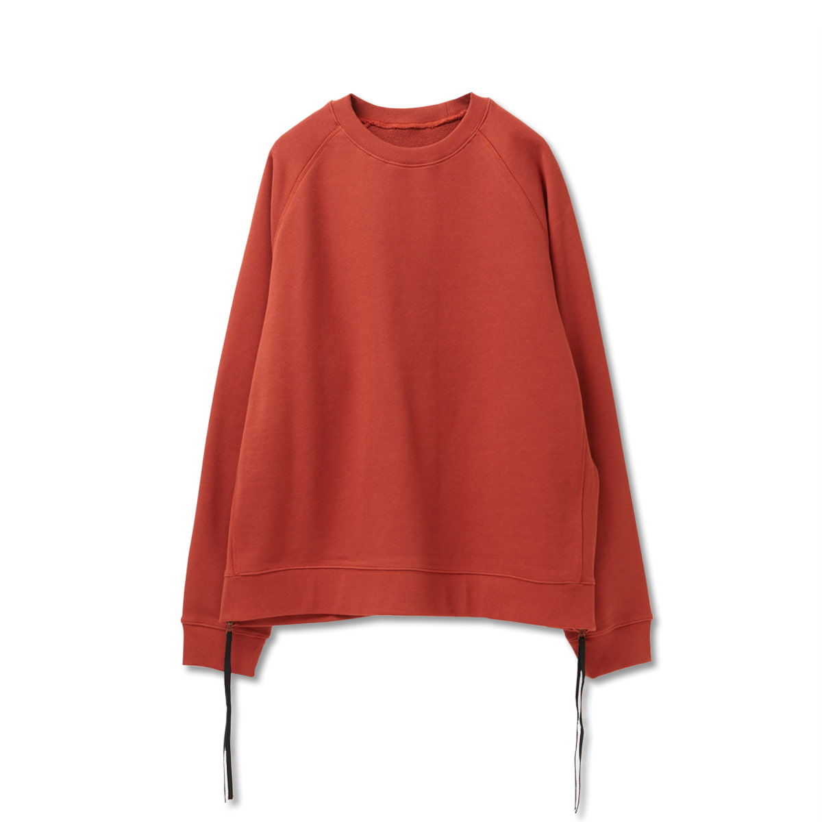 [YOUTH] SIDE ZIP-UP SWEATSHIRT 'ORANGE'