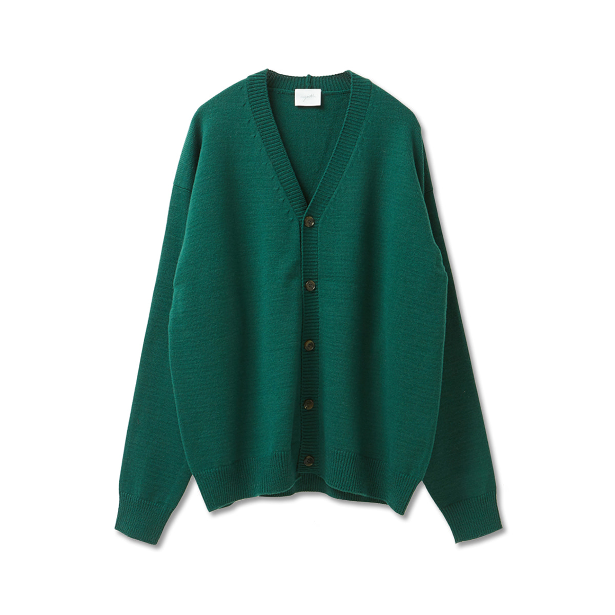 [YOUTH] OVERSIZED CARDIGAN 'GREEN'