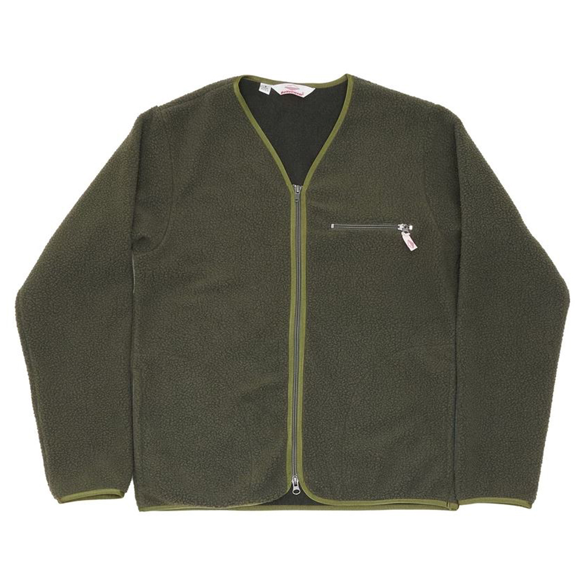 [BATTENWEAR] LODGE CARDIGAN 'OLIVE'