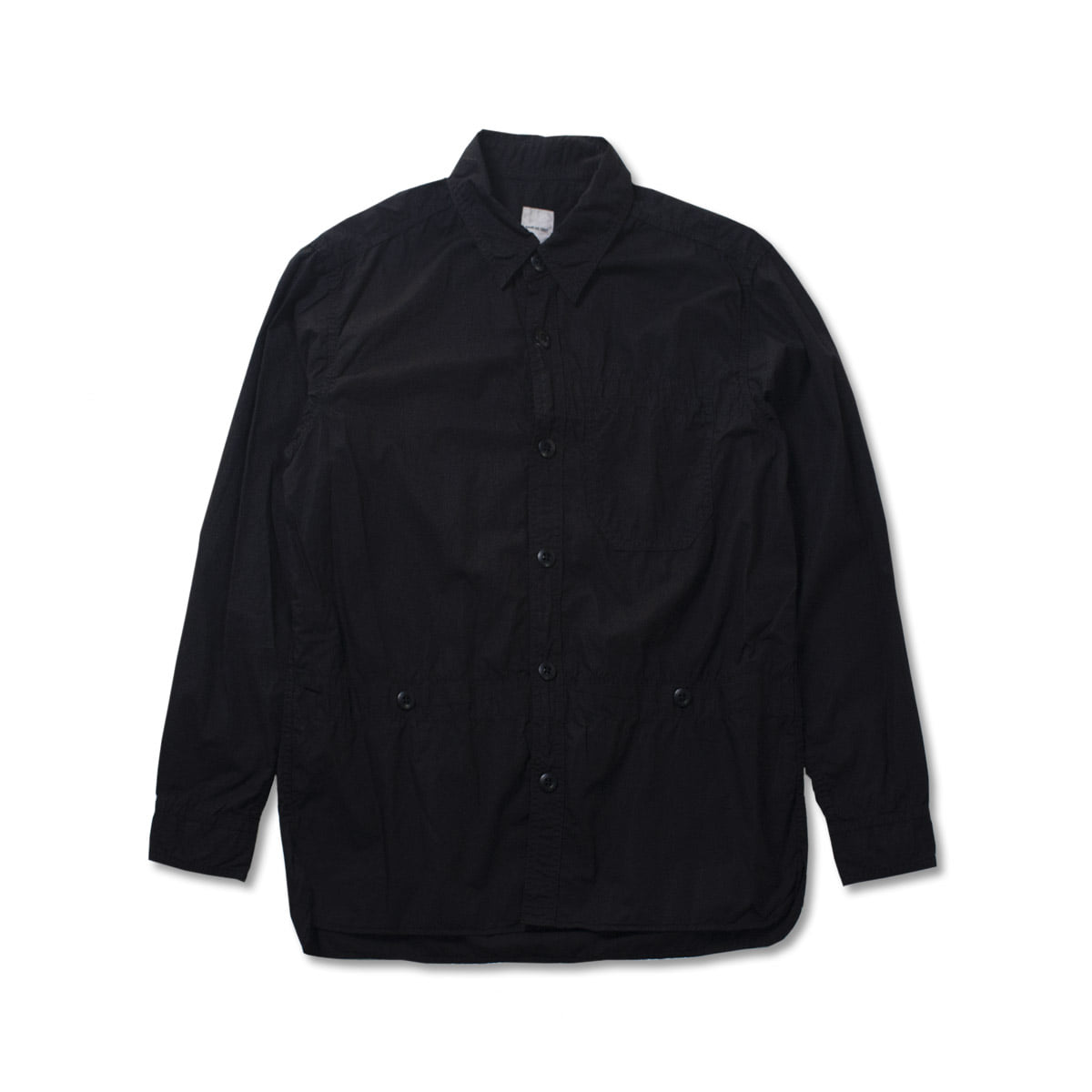 [SAGE DE CRET] 19FW MILITARY SHIRT 'BLACK'