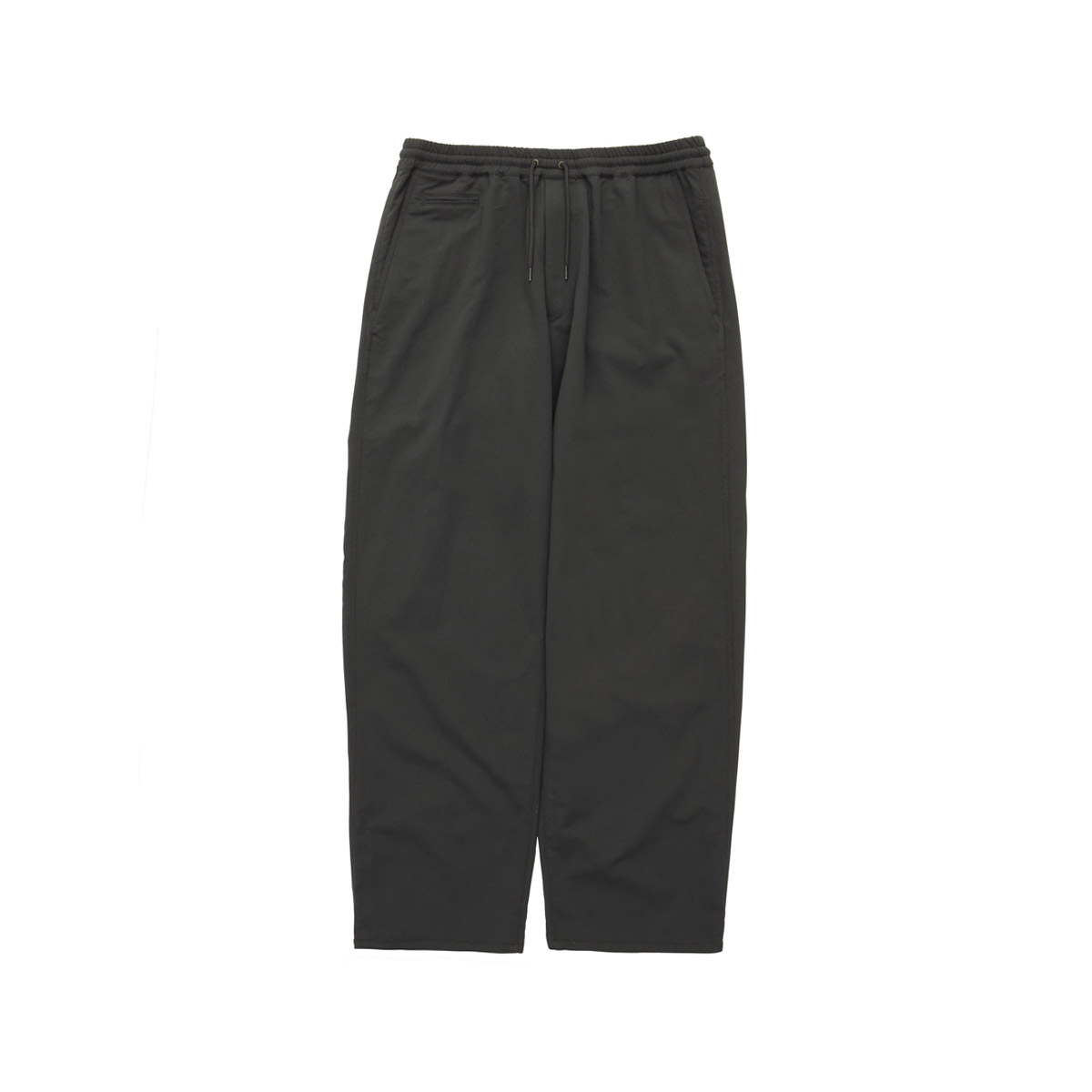 [NANAMICA] ALPHADRY WIDE EASY PANTS 'BLACK'