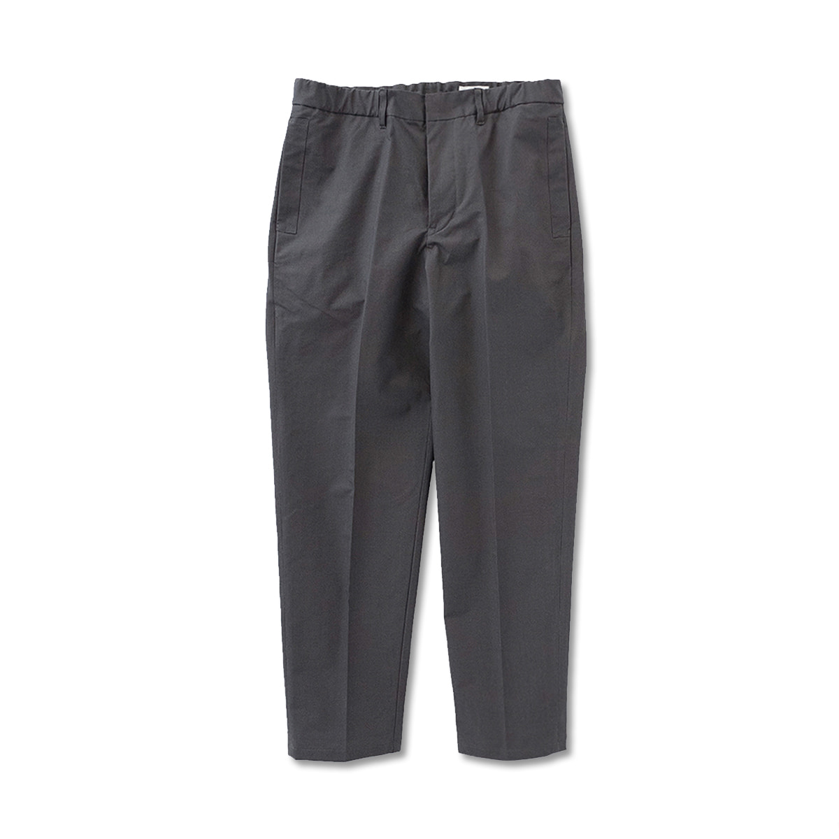 [STILL BY HAND] PT0493OS - COTTON TAPERED PANTS 'CHARCOAL'