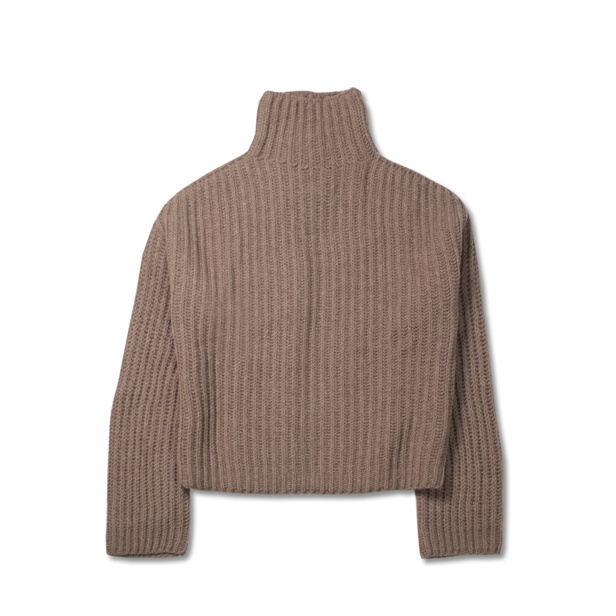 [STUDIO NICHOLSON] OVERSIZED HIGH NECK MERINO KNIT 'CAMEL'