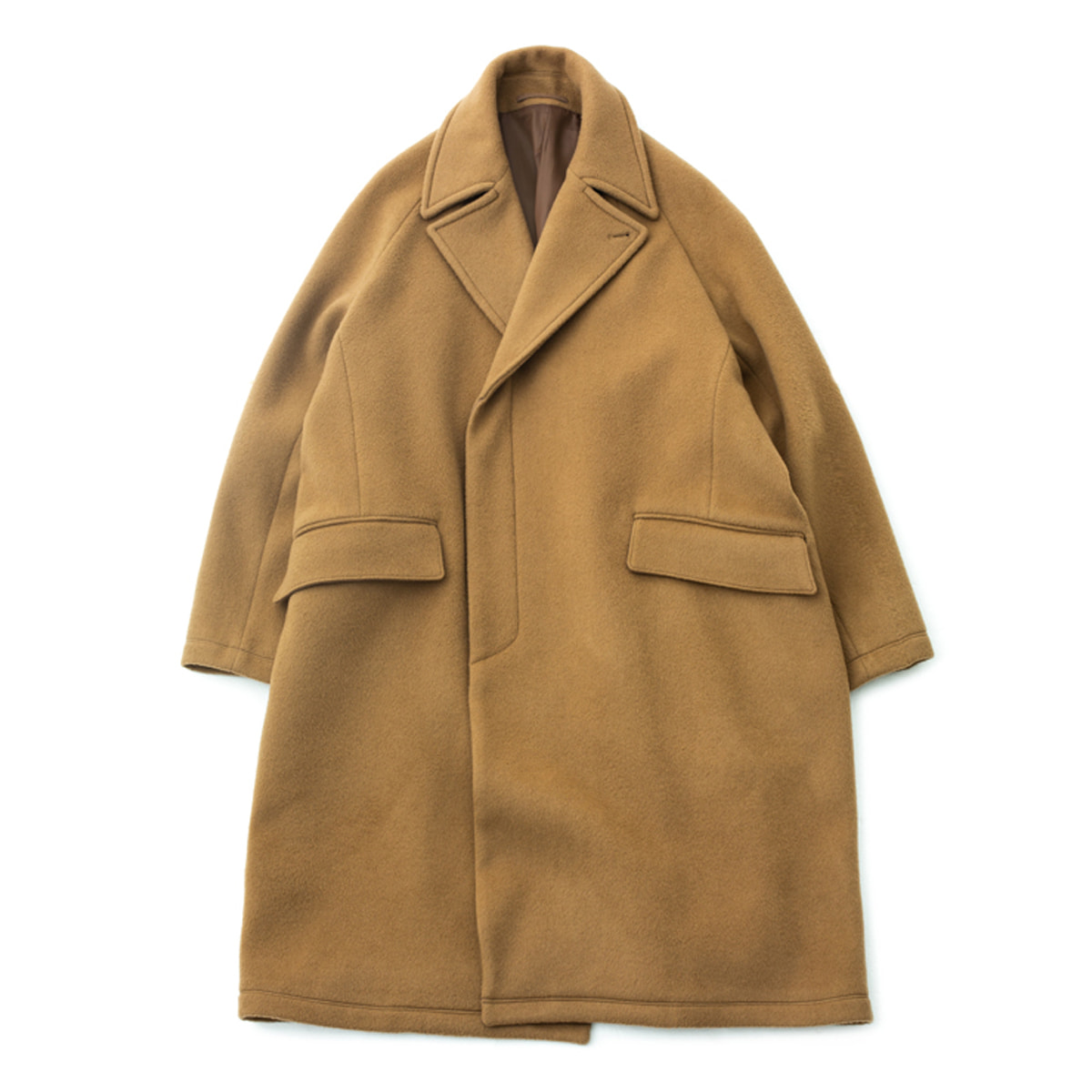 [BROWNYARD] CHESTERFIELD COAT 'CAMEL'