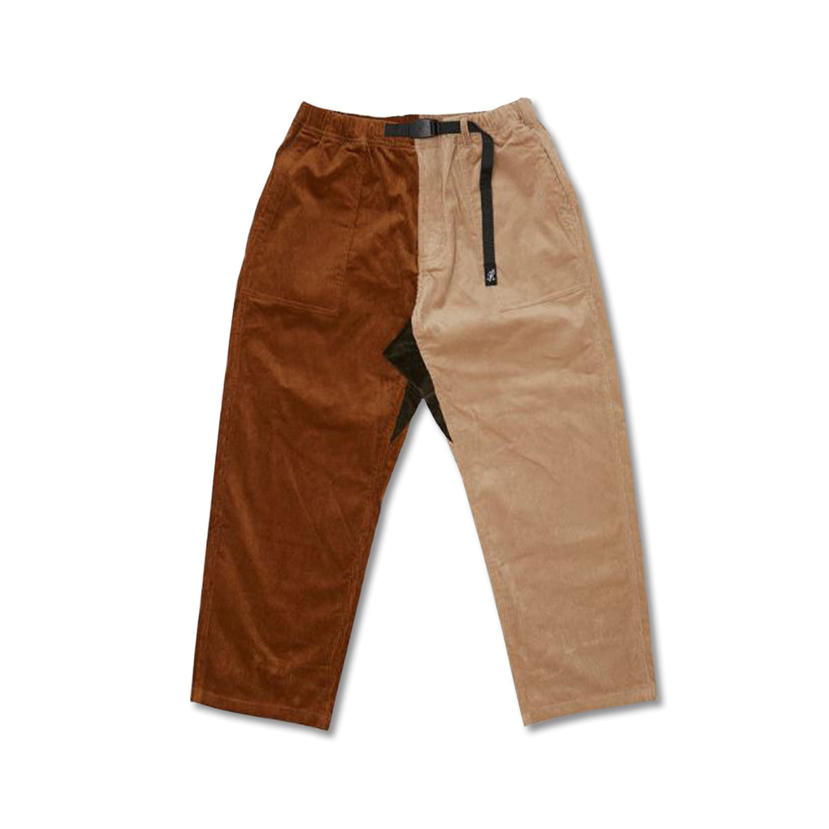 [GRAMICCI] CORDUROY LOOSE TAPERED PANTS 'CRAZY'