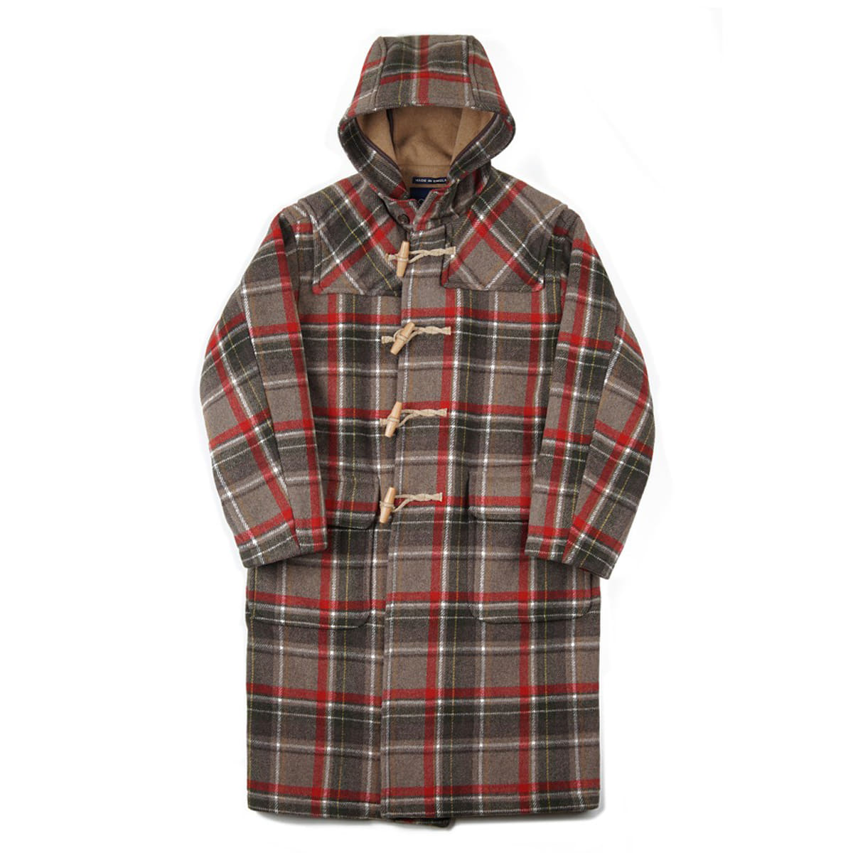[LONDON TRADITION] MENS EXTRA OVERSIZE CHECK LT-01 'CAMEL-128'