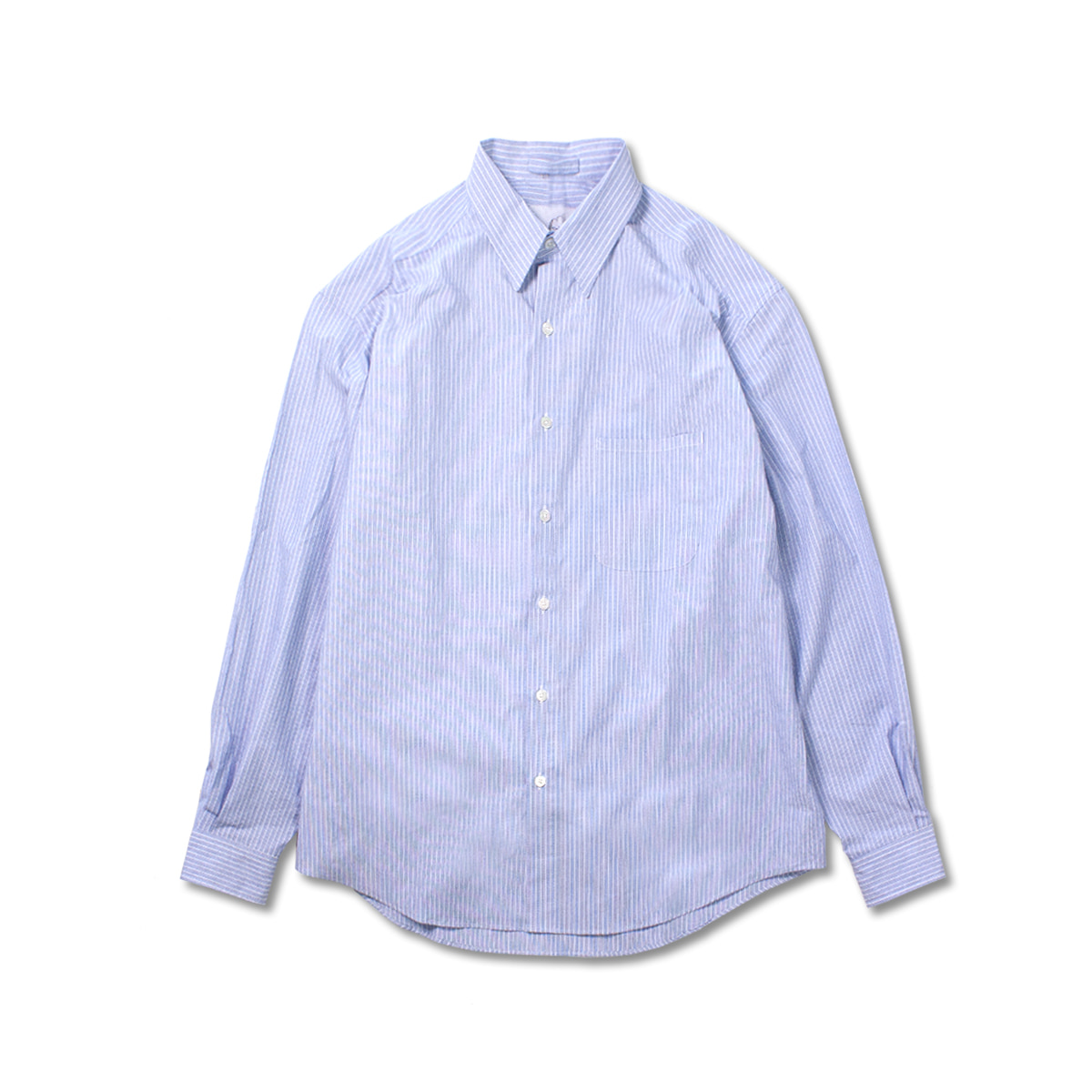 [BROWNYARD X RINOSTORE] STEADY SHIRT 'BLUE STRIPE'