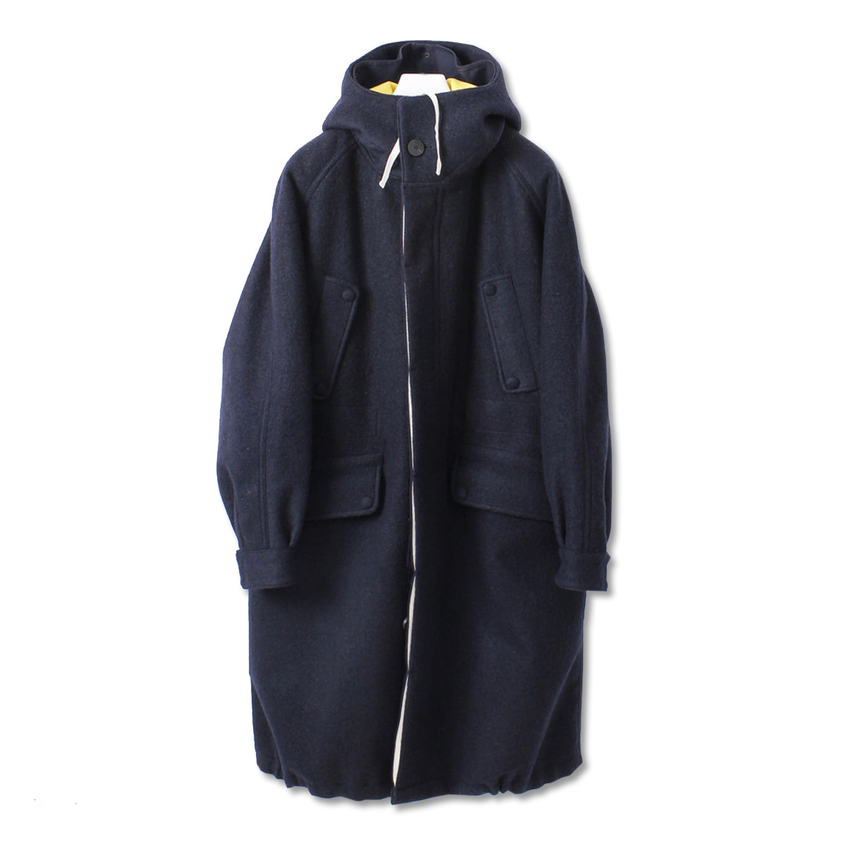 [DOCUMENT] THE DOCUMENT WOOL PARKA 'YELLOW'