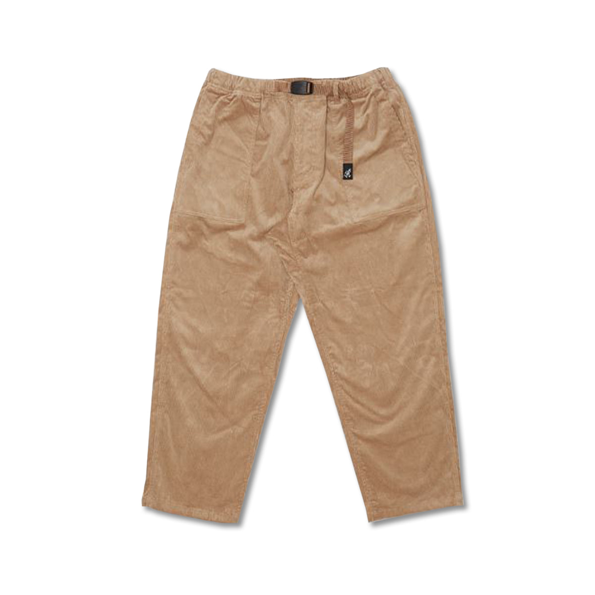 [GRAMICCI] CORDUROY LOOSE TAPERED PANTS 'BEIGE'
