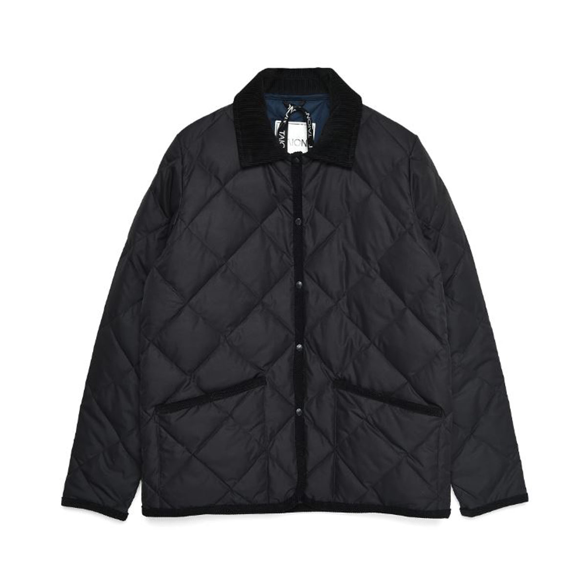 [TAION] PIPING COLLARED DOWN JACKET (TAION-109CI) 'BLACK'