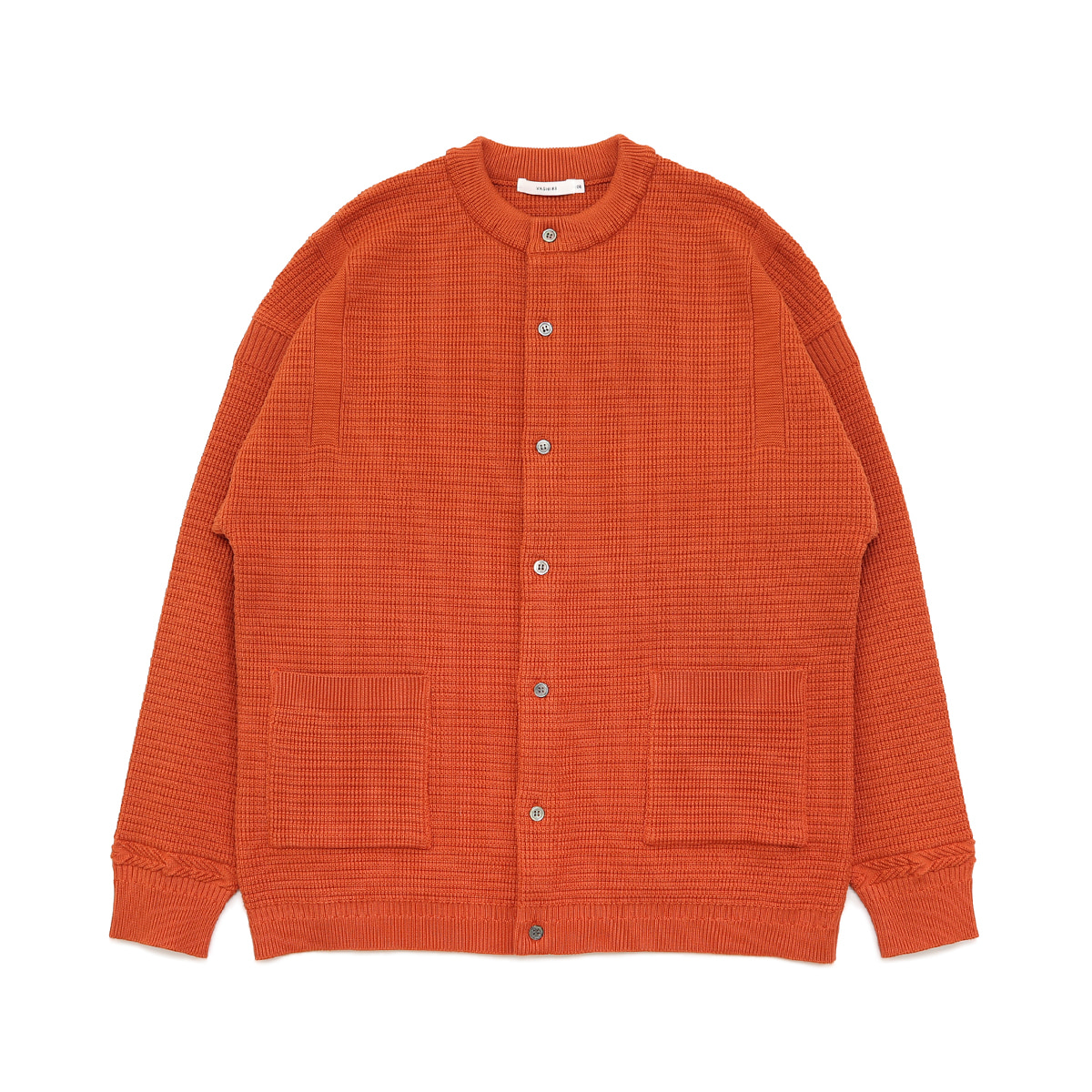 [YASHIKI] KONOGAKE CARDIGAN 'ORANGE'