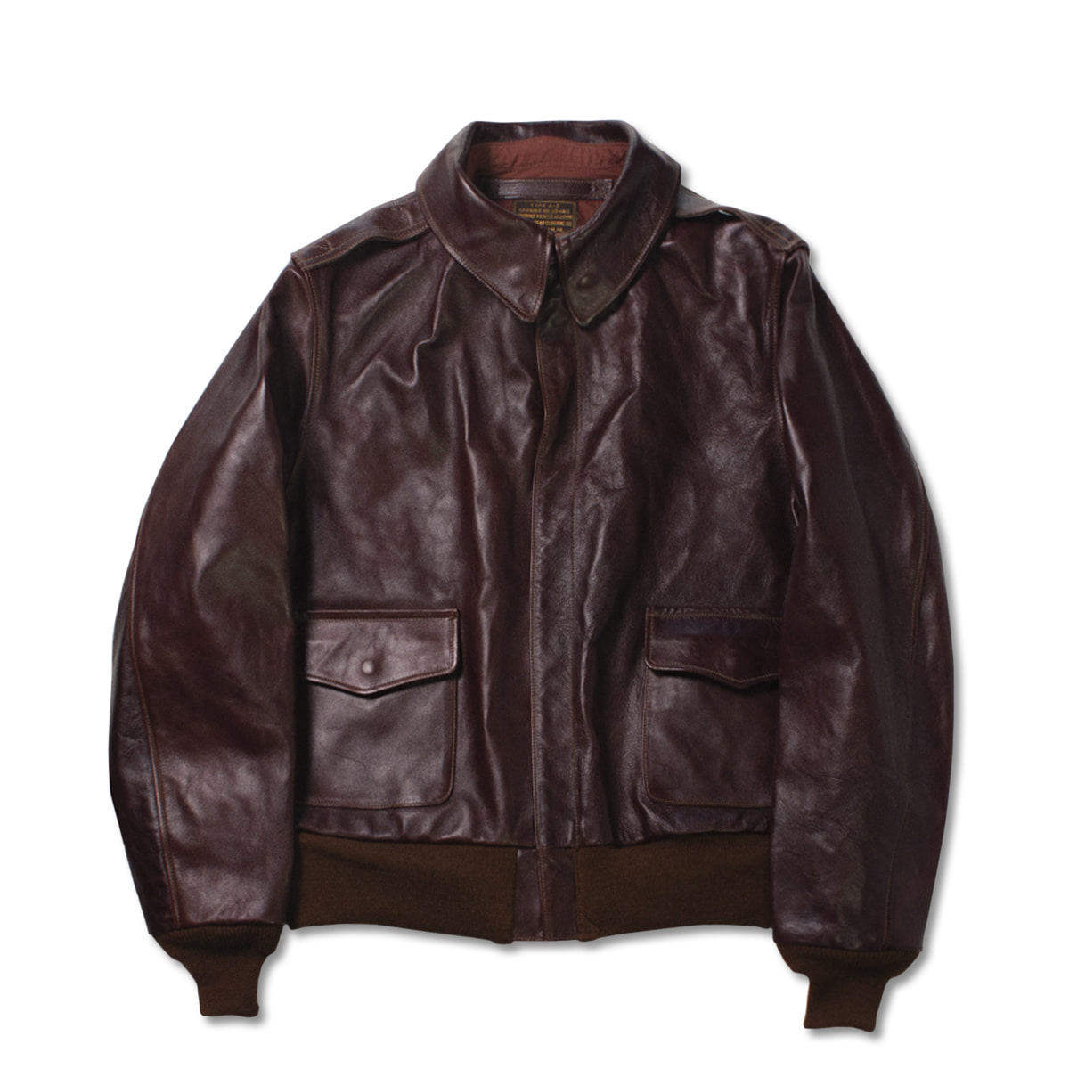[BUZZ RICKSON'S] A-2 LEATHER JACKET 'BROWN'