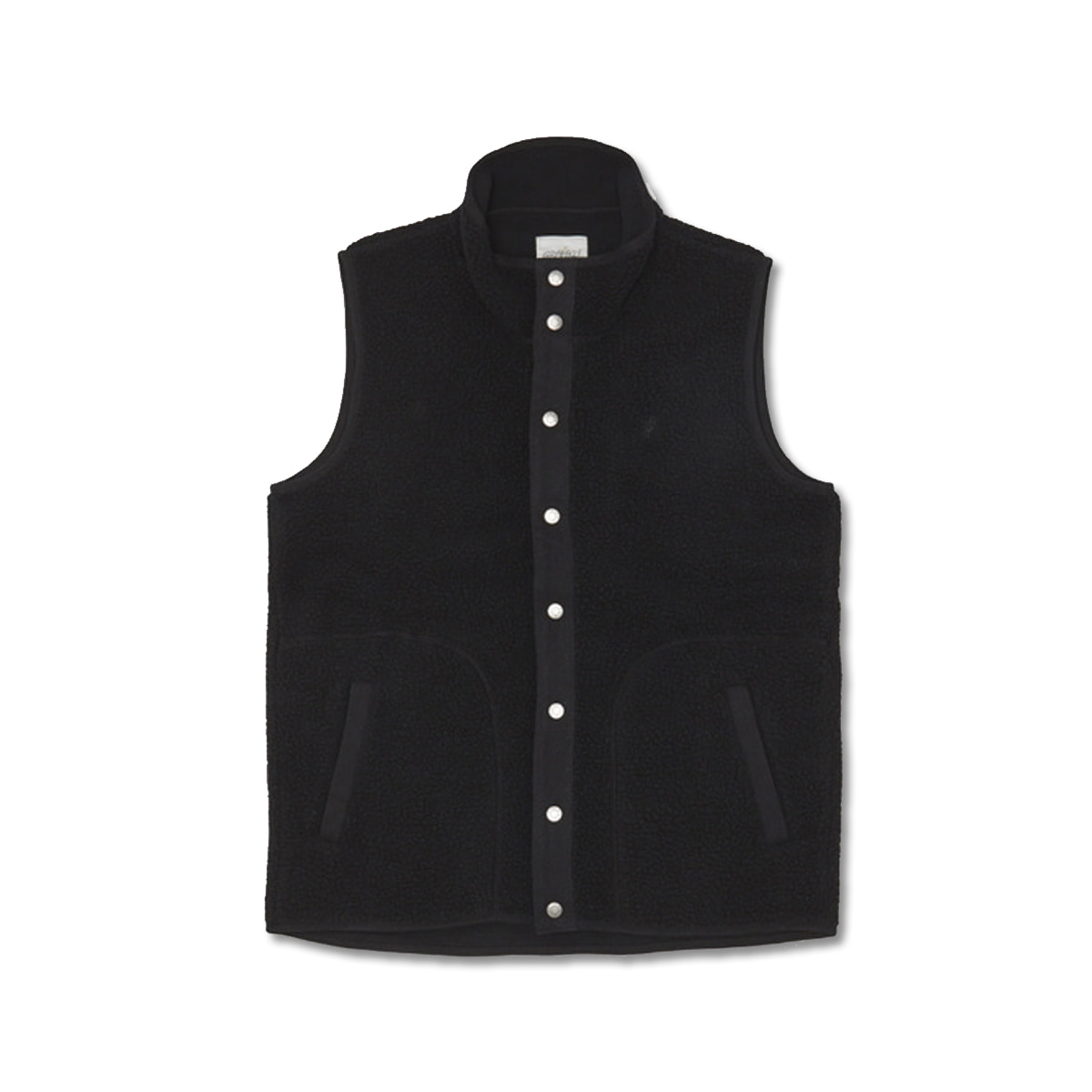 [GRAMICCI] BOA FLEECE VEST 'BLACK'