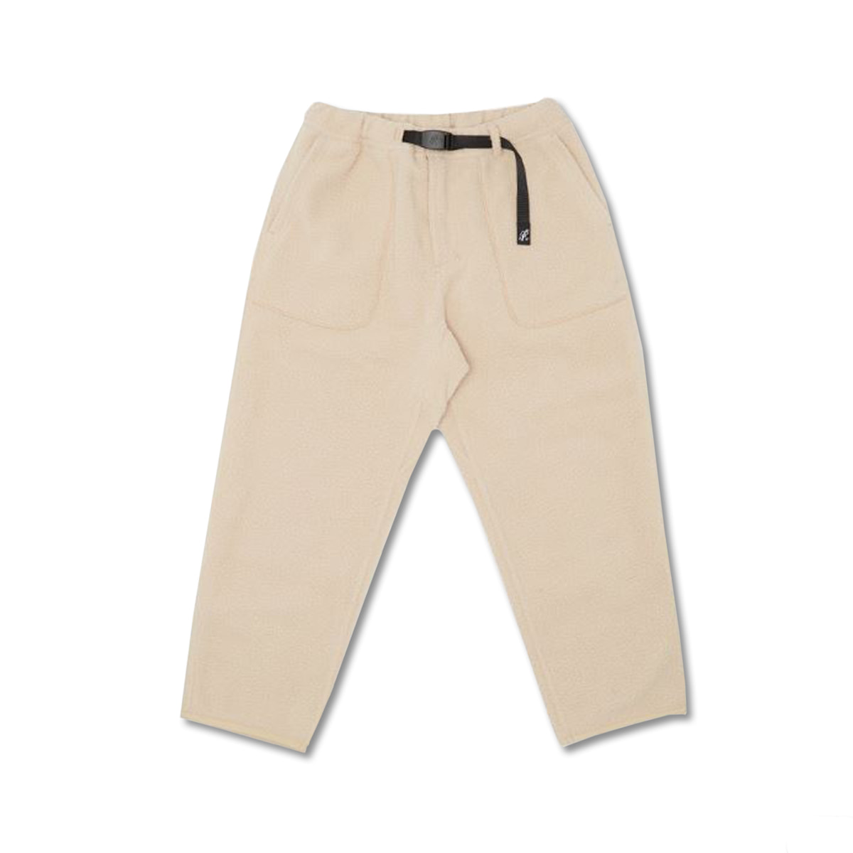 [GRAMICCI] BOA FLEECE LOOSE TAPERED PANTS 'IVORY'