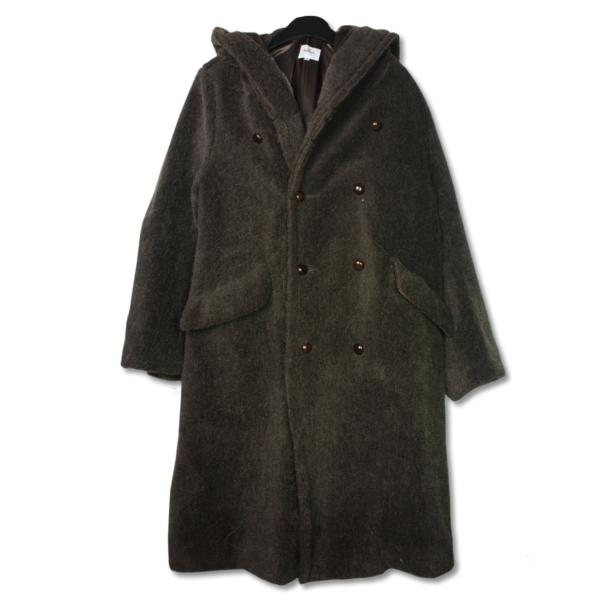 [HAVERSACK] BEAR COAT 'OLIVE BROWN'