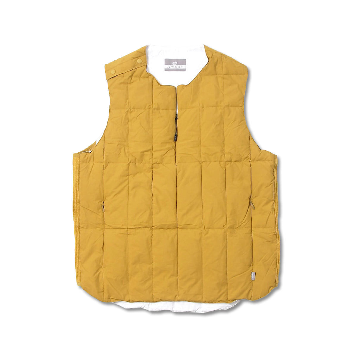 [BEHEAVYER] PACKING VEST 'MUSTARD'