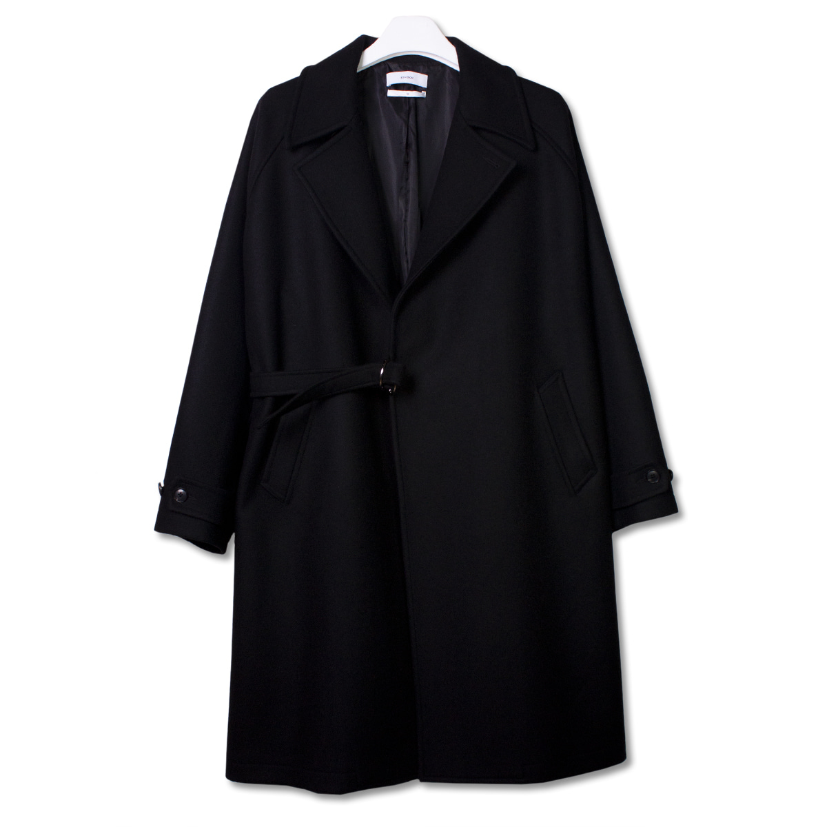 [8DIVISION] TIELOCKEN COAT 'BLACK'