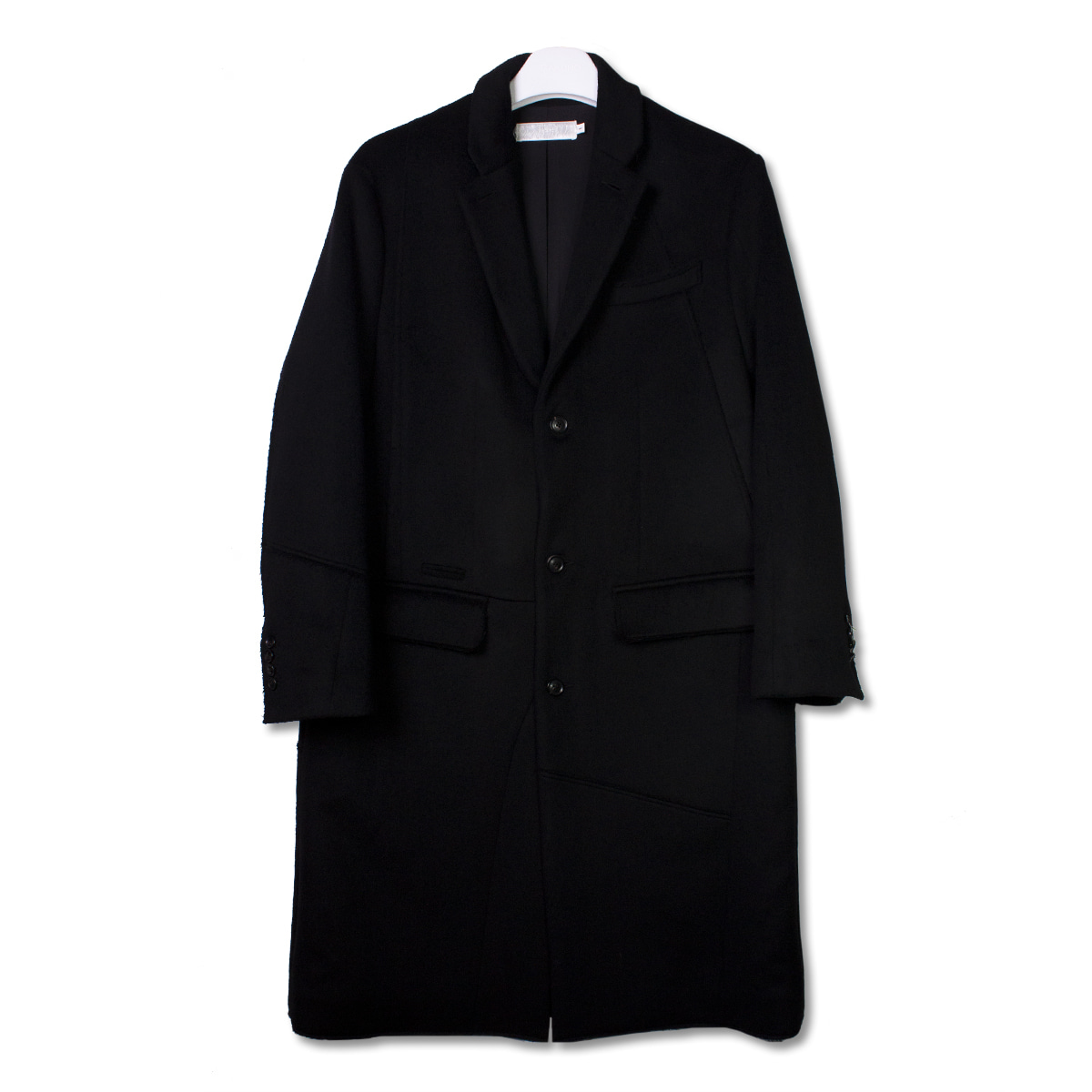 [GAKURO] CHESTERFIELD COAT 'BLACK'
