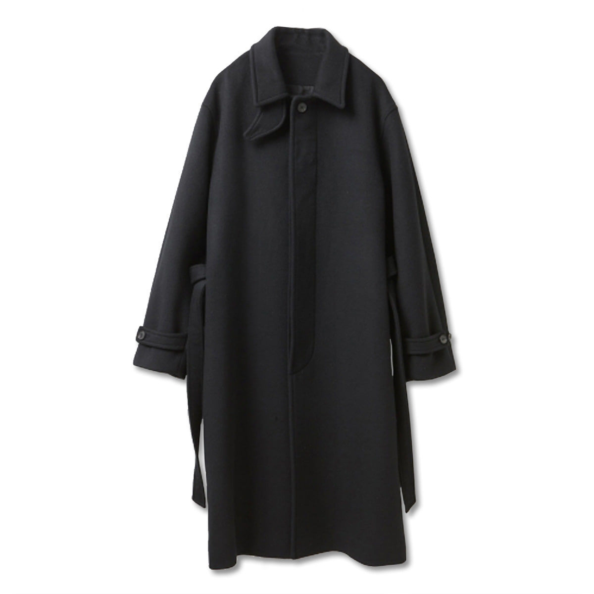 [YOUTH] ROBE MAC COAT 'BLACK'