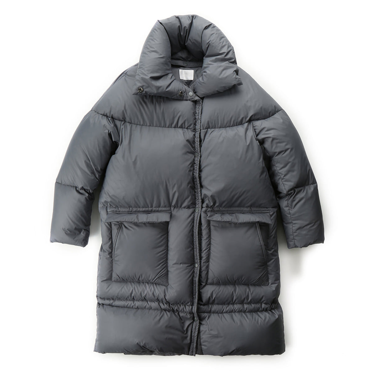 [MUSED] MUSED GOOSEDOWN LONG PUFFER 'GREY'