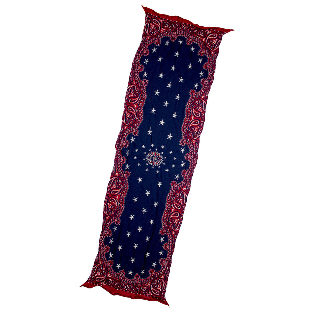 [KAPITAL] COMPRESSED WOOL SCARF COSMIC STAR 'RED'