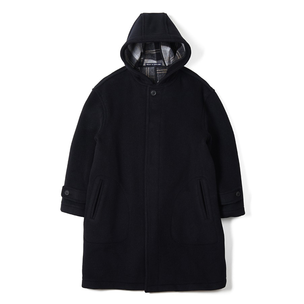 [LONDON TRADITION] SEATON OVERSIZE COAT 'NAVY SBB'