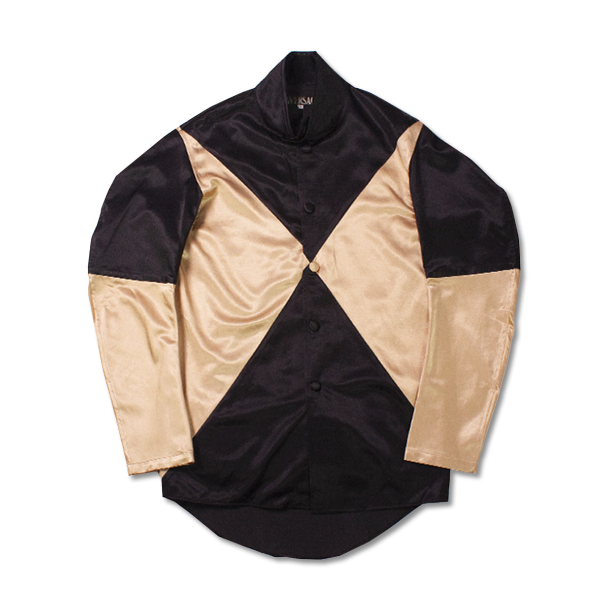 [HAVERSACK] JOCKEY SHIRT 'BLACK/BEIGE'