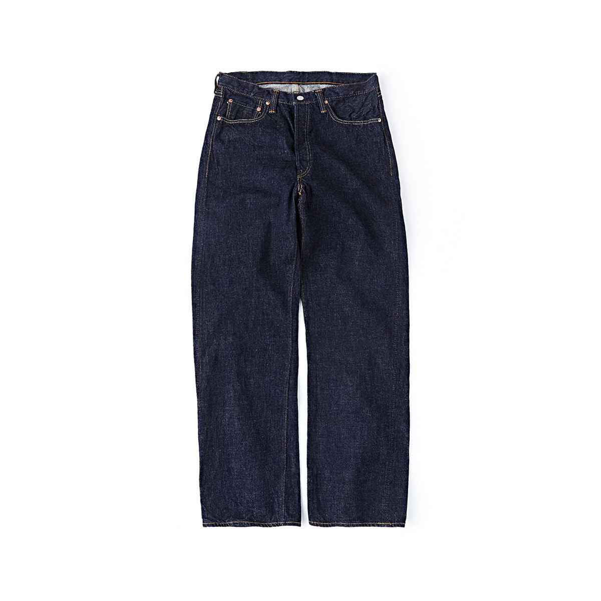 [FULLCOUNT] NEW LOOSE STRAIGHT 0105W 'INDIGO BLUE'
