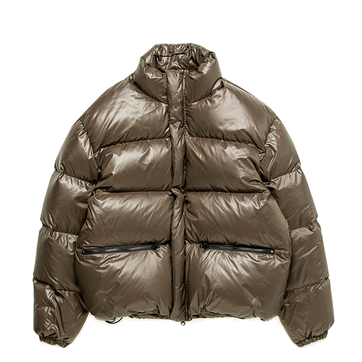 [BROWNYARD] UTILITY DOWN JACKET 'OLIVE'