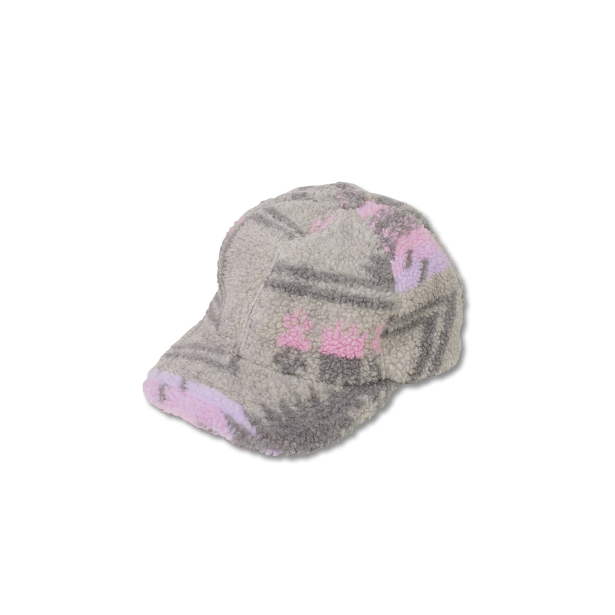 [KAPITAL] BOA FLEECE BASEBALL CAP 'GRY'