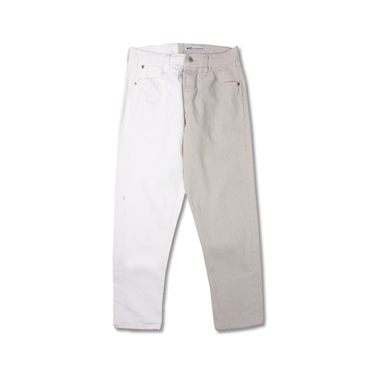 [SUNNY SIDE UP] RE 2FOR1 DENIM 5P PANTS 'WHITE'