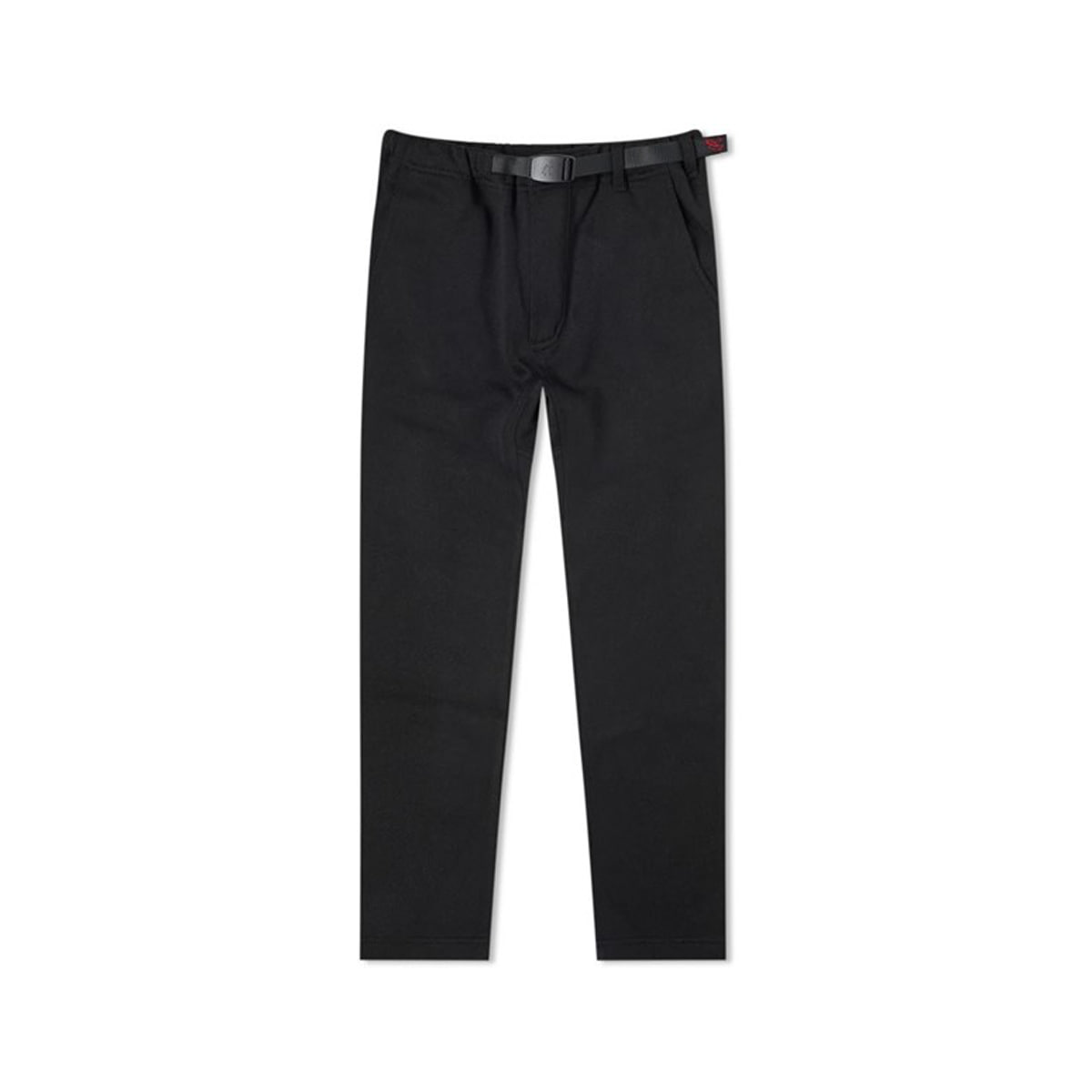 [GRAMICCI] BONDING KNIT FLEECE SLIM PANT 'BLACK'
