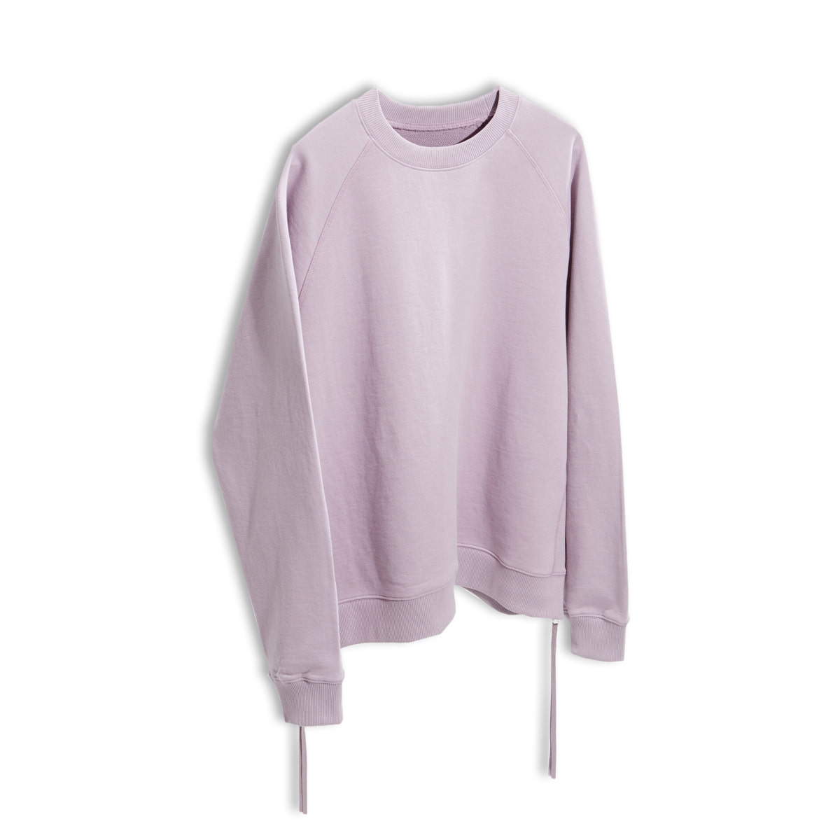 [YOUTH] SIDE ZIP-UP SWEATSHIRT 'LIGHT PURPLE'